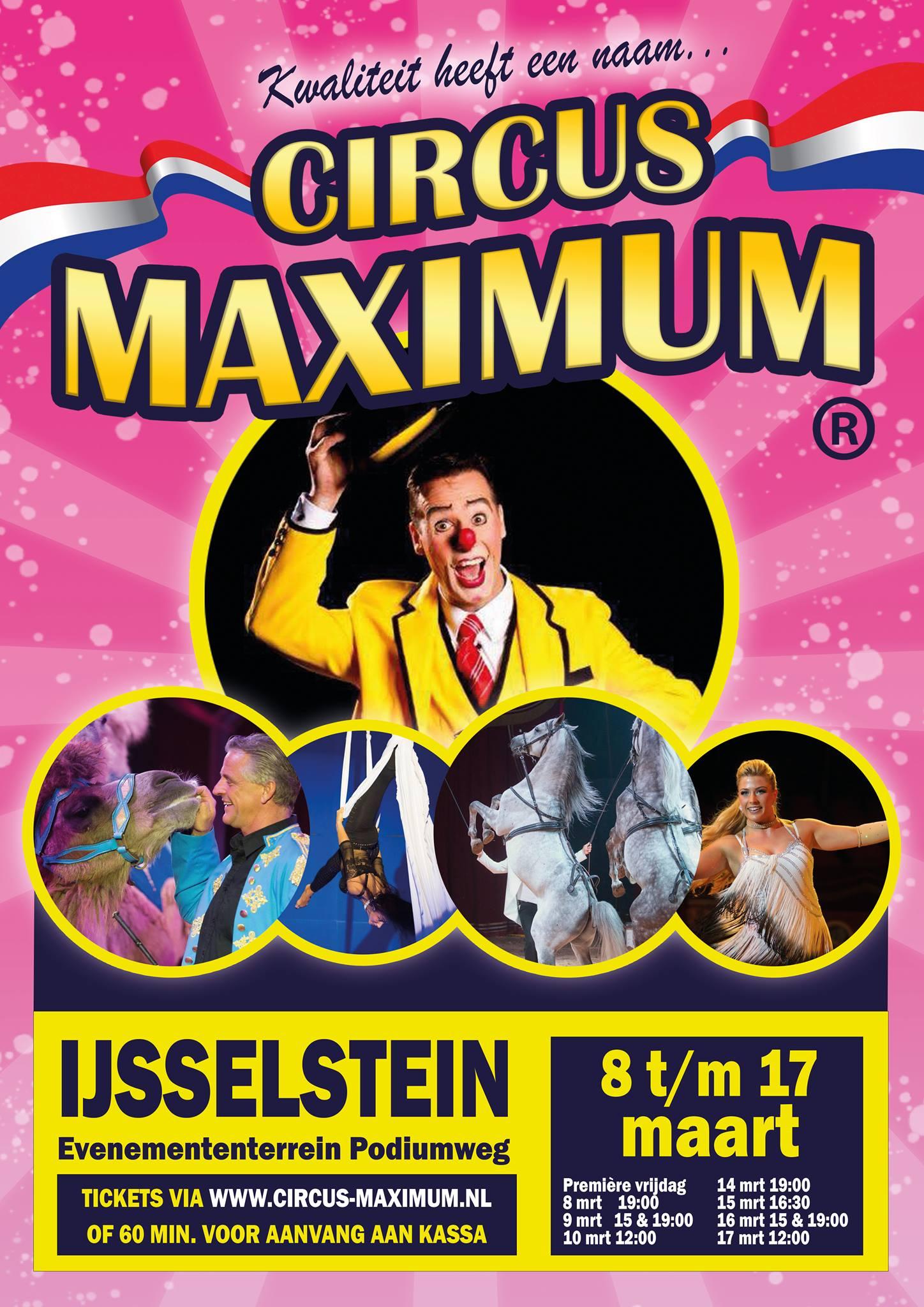 Circus Maximum in IJsselstein Utrecht - Lucas Fitness Gym