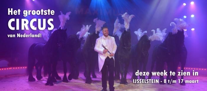 Circus Maximum in IJsselstein Utrecht - Peter Lucas Fitness -